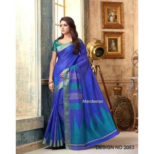 ANMOL ART SILK DESIGN 2053 large 1