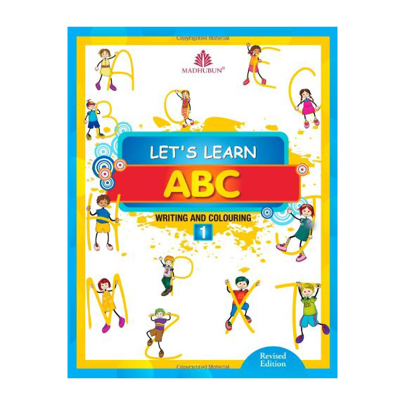 Let's Learn ABC-1 Writing & Colouring B320951 large 1