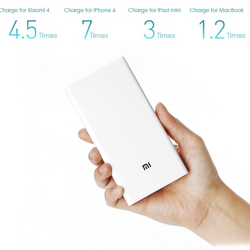 Original Xiaomi Mi 20000mAh Mobile Power Bank Quick Charging large 5