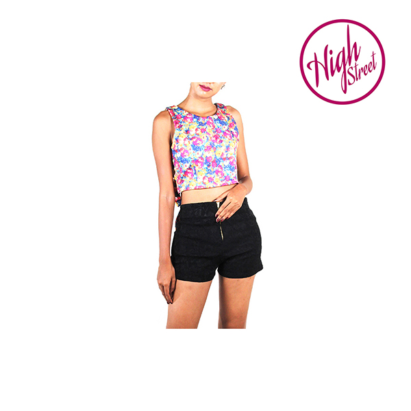 Blossomy Bow Crop Top HS00007 large 1