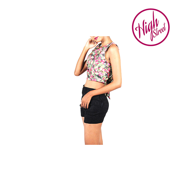 Blossomy Bow Crop Top HS00007 large 3