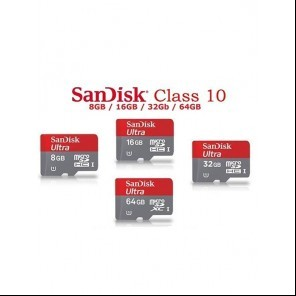 SanDisk Ultra MicroSD Card with Adapter large 1