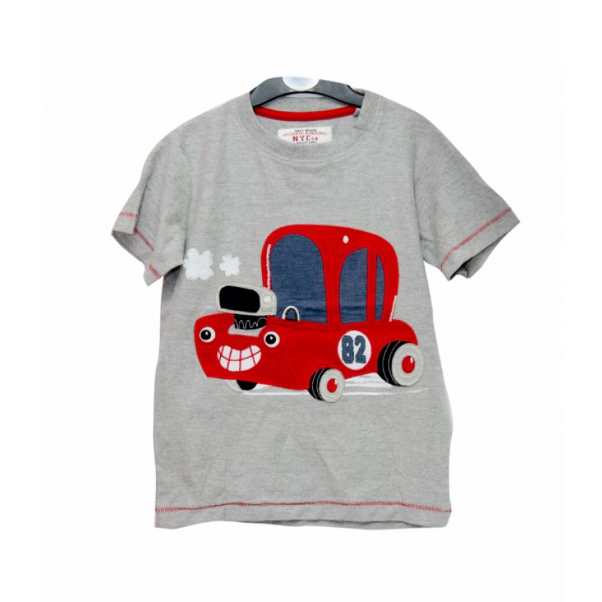 Red Car Boys T-shirt large 1