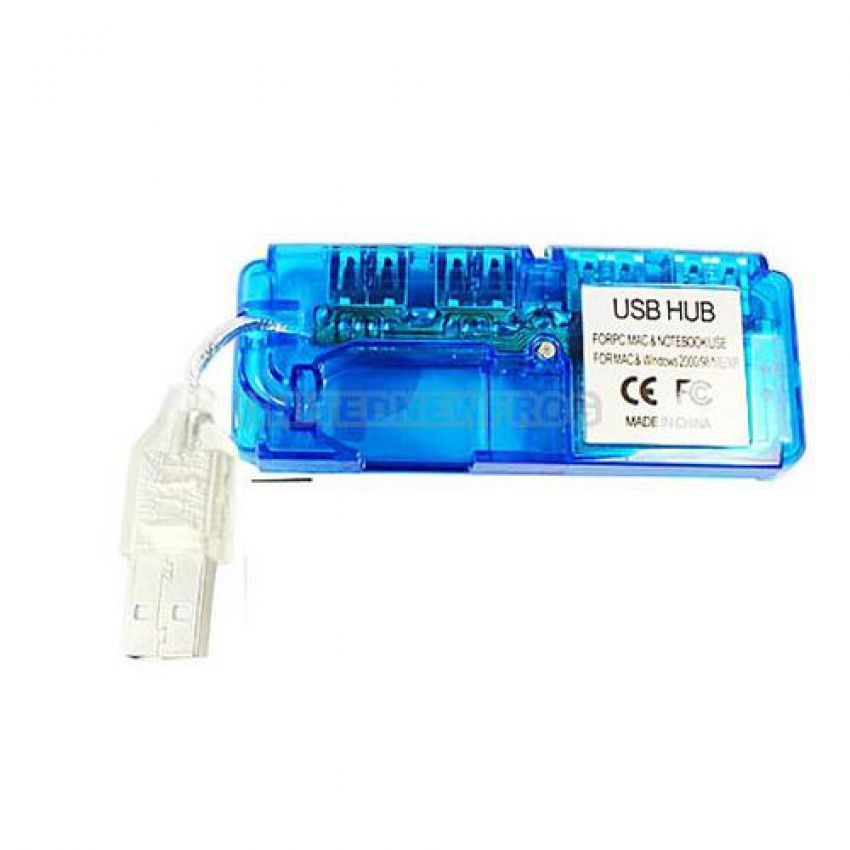 4 Port Hub USB large 1