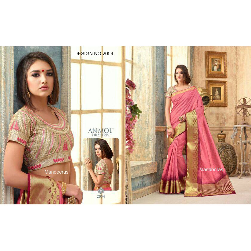 ANMOL ART SILK DESIGN 2054 large 1