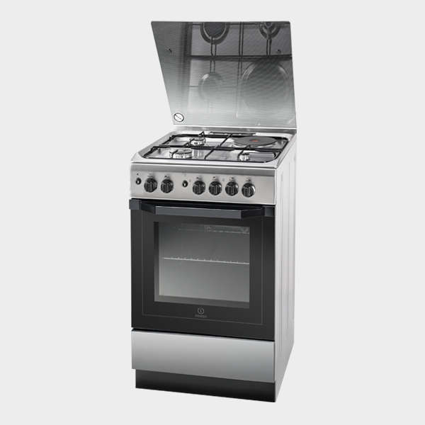 INDESIT 4 Burner Cooker I5MG1GX EX