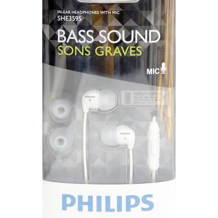Philips Bass Sound In Ear Headset with Mic C7404 large 1
