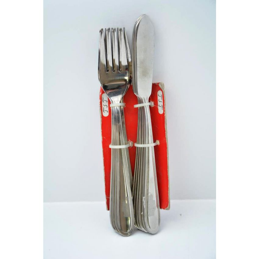 Cutlery Butter Knives and Forks large 1
