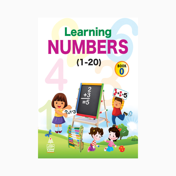 Learning Numbers Book-0 1-20 B260340 large 1