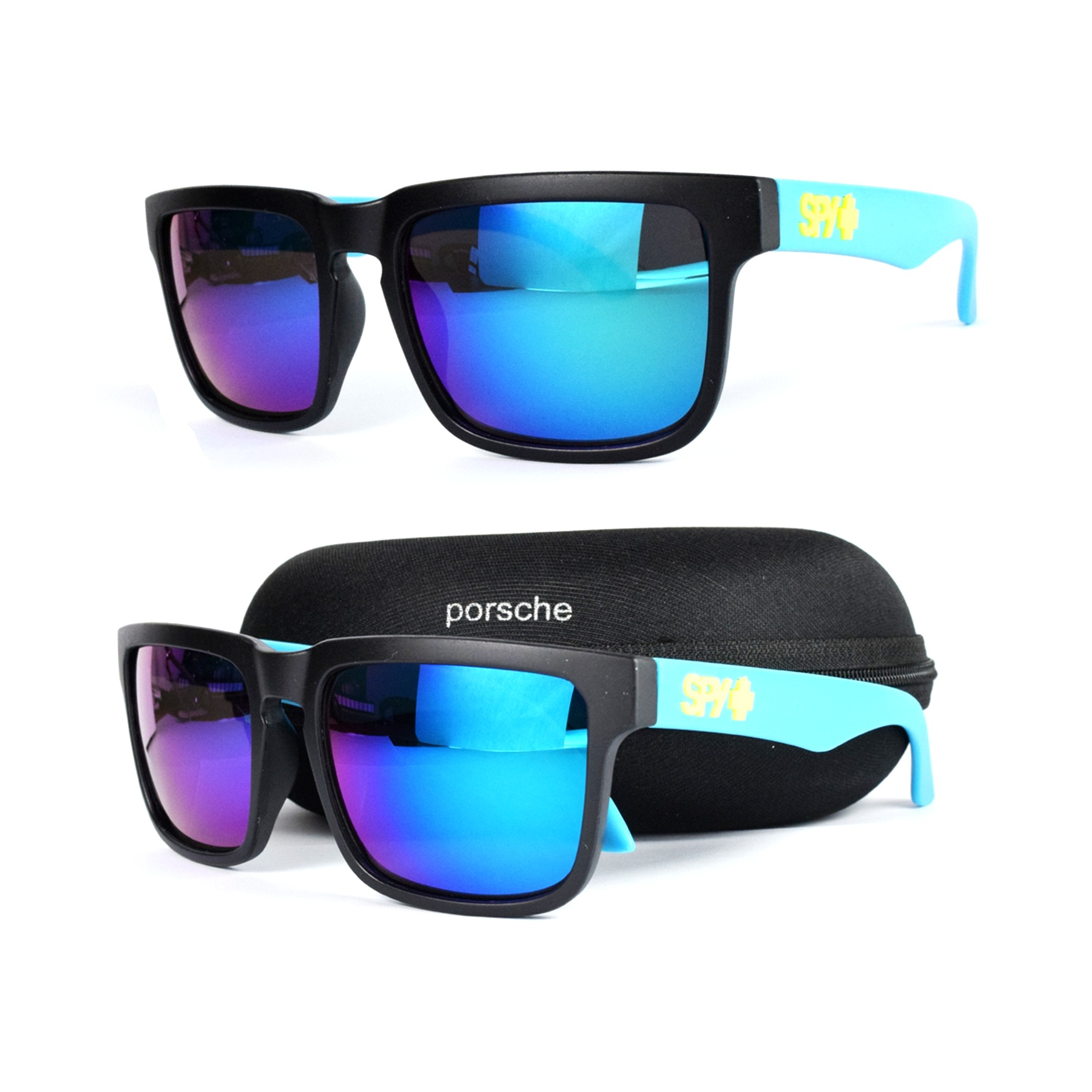 Spy Blue Shade Casual Wayfarer Sunglasses for Men MS030 large 1