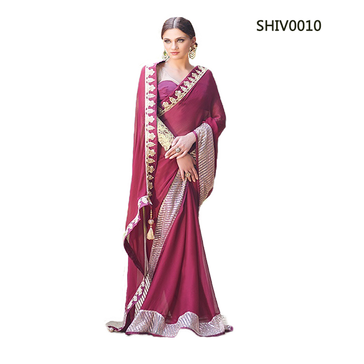 Designer Saree SHIV010 large 1