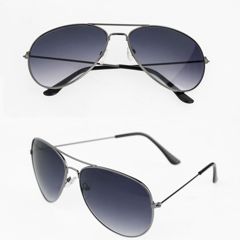 Hot New Unisex Retro Vintage Mirrored Lens Sunglasses large 3