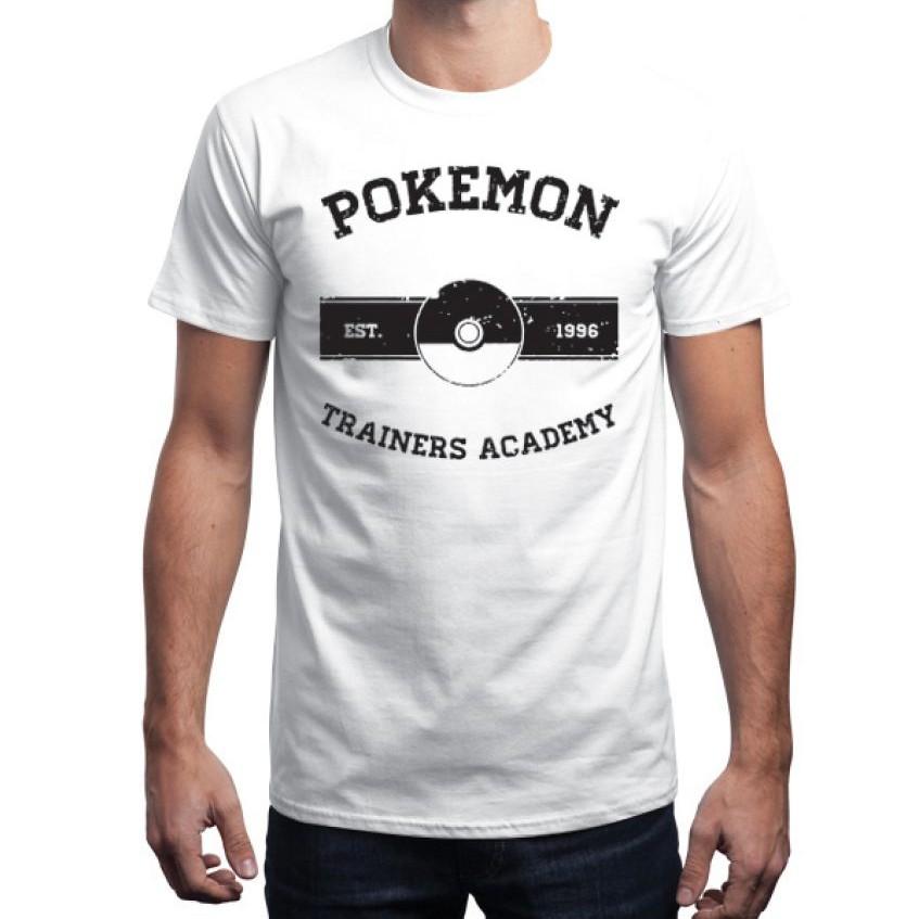 Pokemon White T shirt for Men