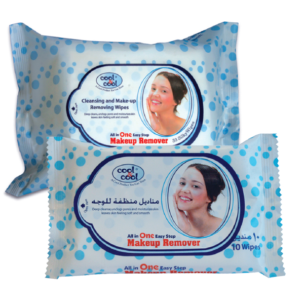 Make-Up Remover & Cleansing Wipes 10pcs large 1
