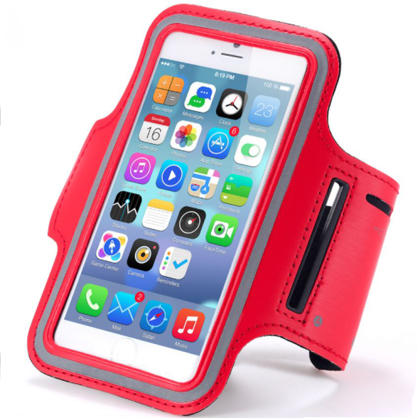 IPhone 6 Plus Armband Red