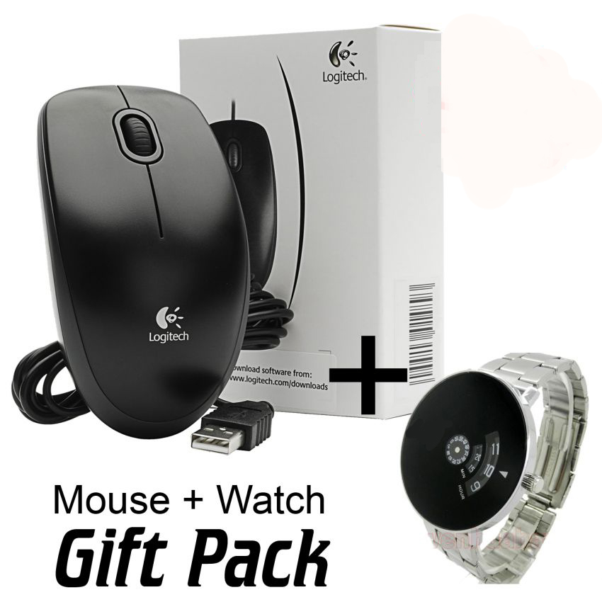 Bundle Deal Gift Japanese Watch Plus Logitech Mouse