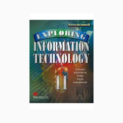 Exploring Information Technology Cl-11 Revised Edition B100392 large 1