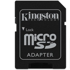 Kingston 64GB Memory Card Class10  Gold large 2