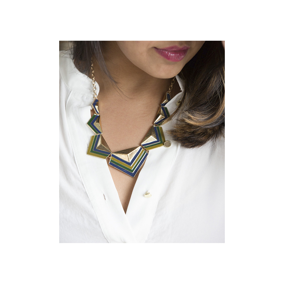 Chunky Triangle Collar SCMCTC large 2