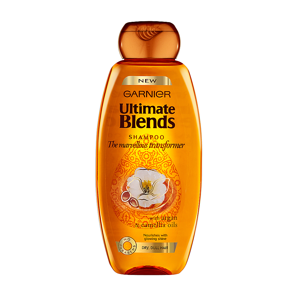 Garnier Ultimate Blends Marvellous Transformer Shampoo 250ml large 1