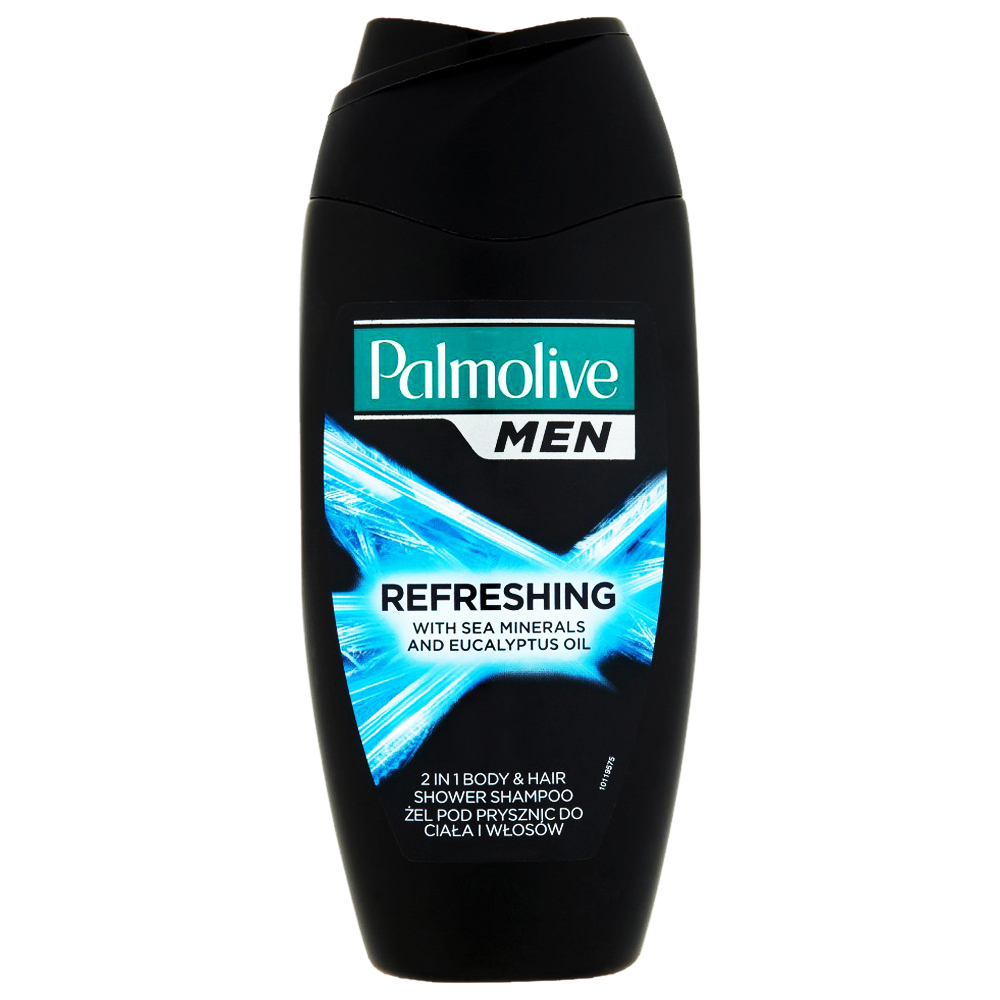 Palmolive Men 2 in 1 Body and Hair Shower Shampoo 400ml large 1