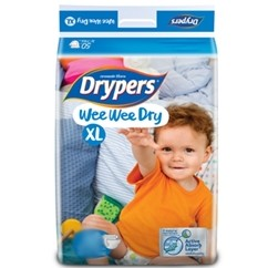 Drypers Baby Diapers Wee Wee Dry XL 10Pcs large 1