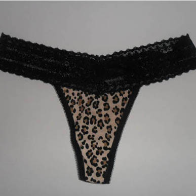 Lace Waist Thong Brief AM454 large 1