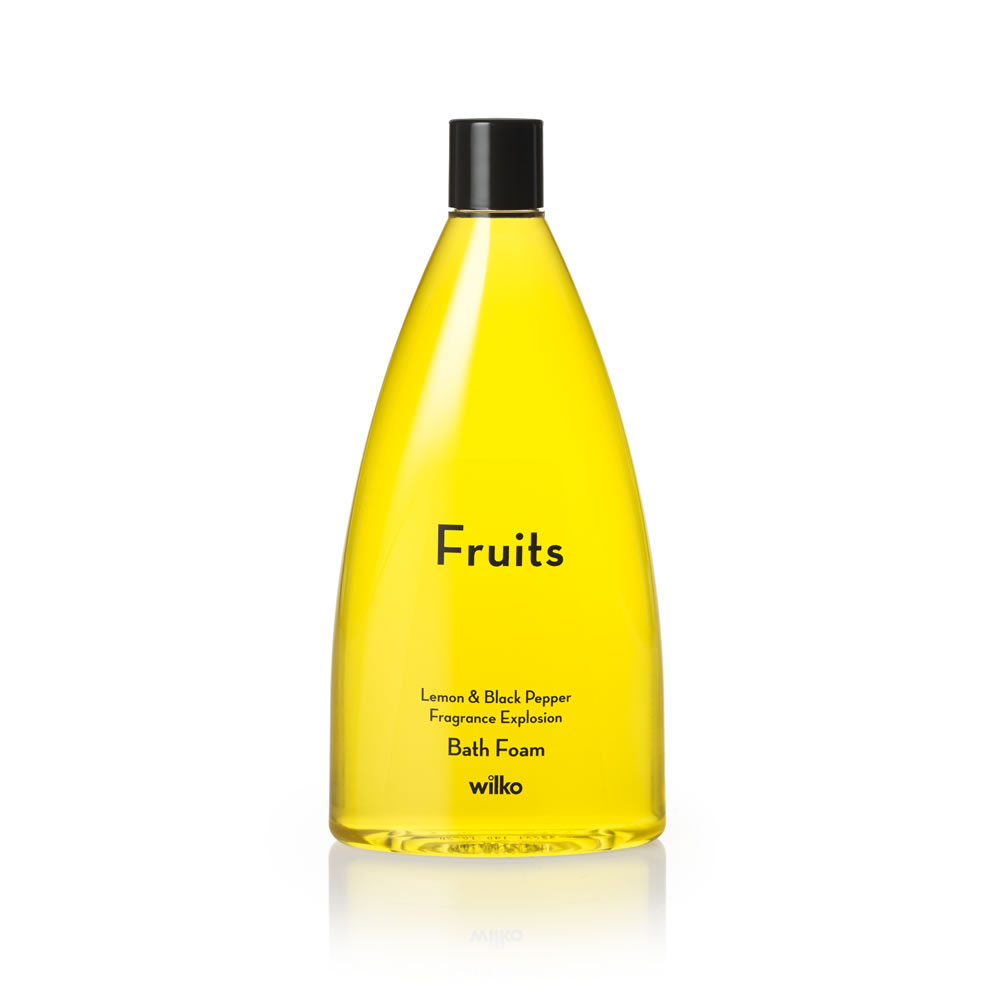Fruits Bath Foam Lemon And Black Pepper 500ml large 1