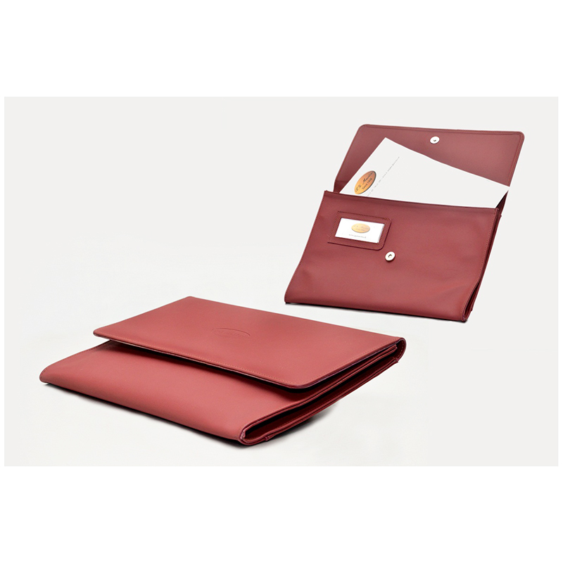 Artificial Leather Letter Case large 1