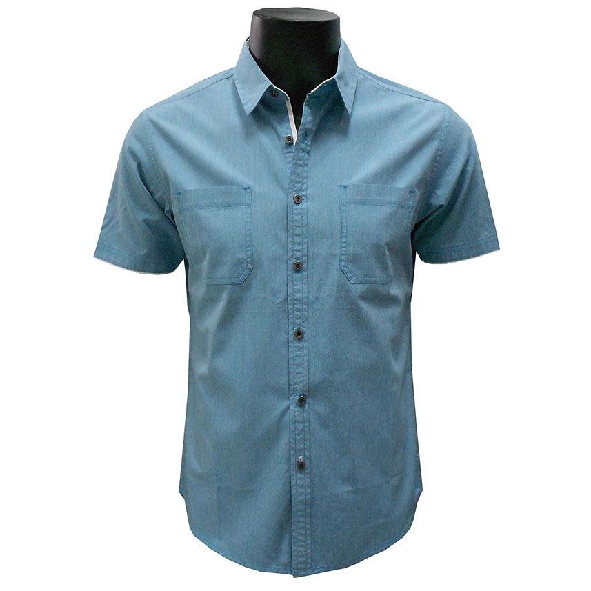 Men's Shirt Turquoise CPSF0034SS70 large 1