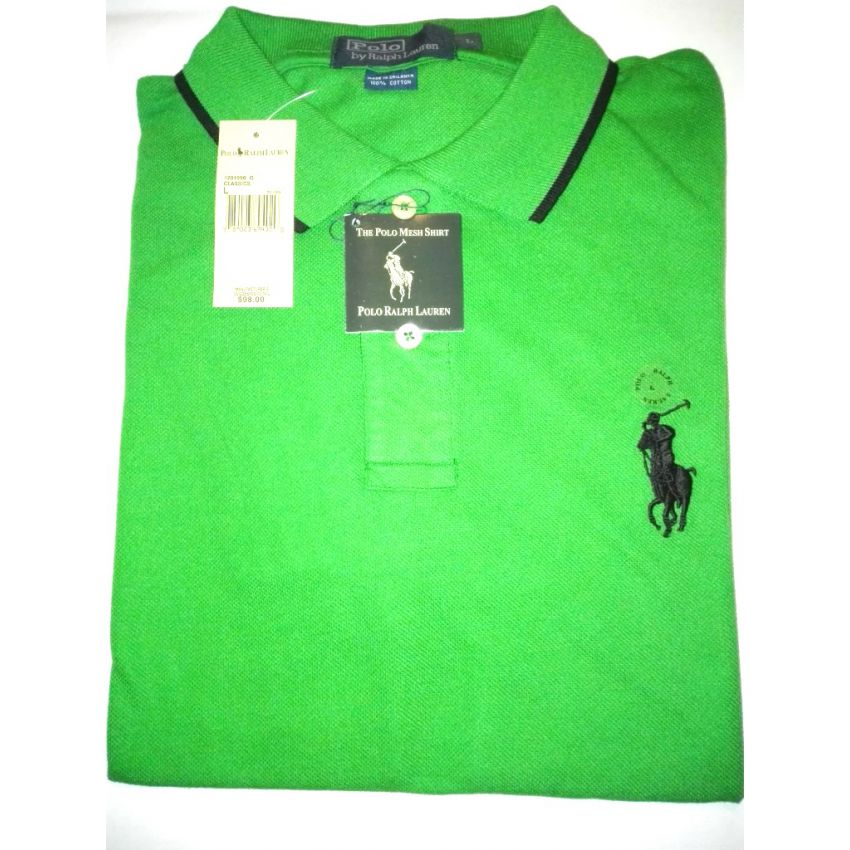 Mens Bright Green T Shirt