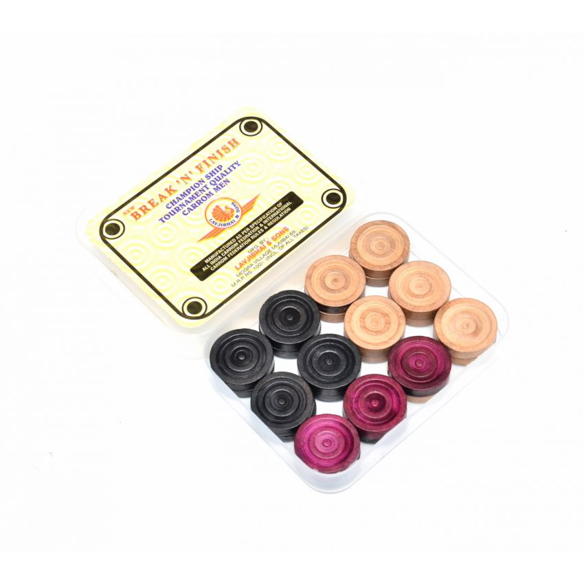 Break And Finish Carrom Coin Set large 1