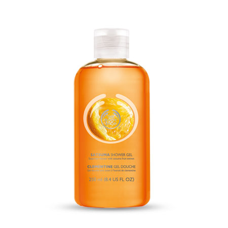 The Body Shop Satsuma Shower Gel large 1