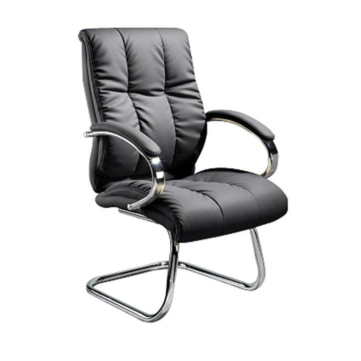 PU Leather Visitor Chair L222L large 1