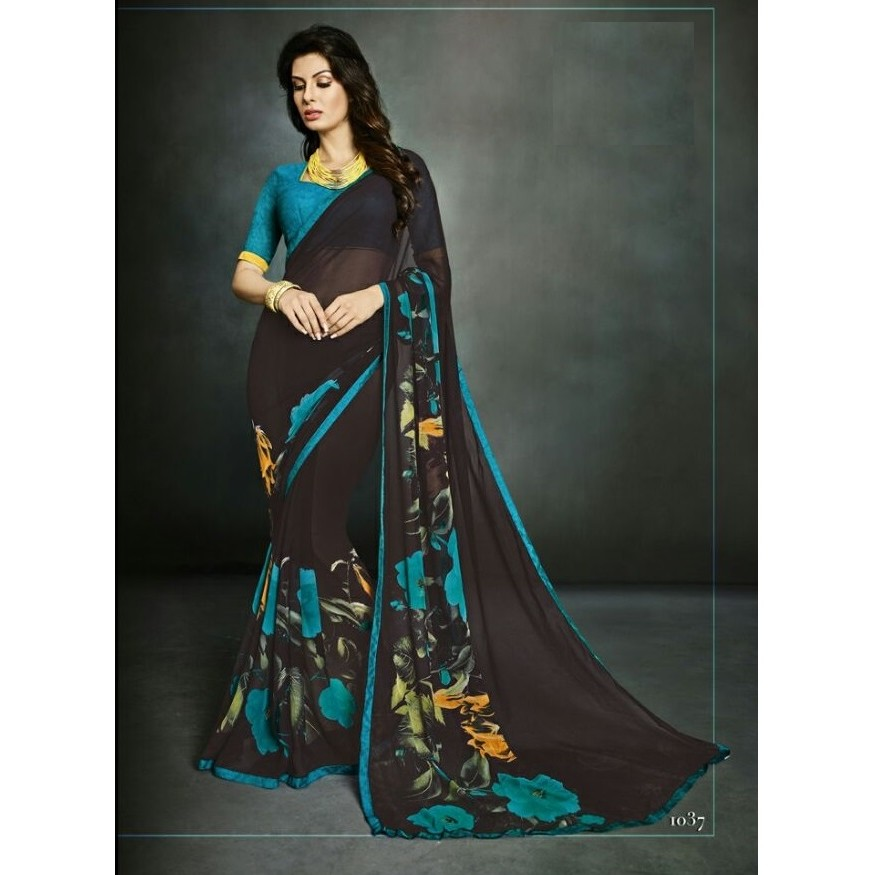Casual Wear Saree SR1560 large 1