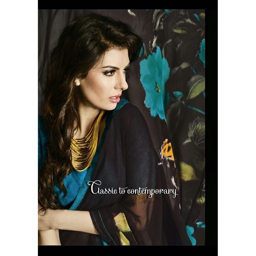 Casual Wear Saree SR1560 large 2