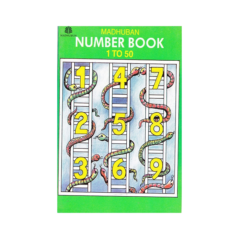 Madhuban Number Book 1 To 50 B320115 large 1