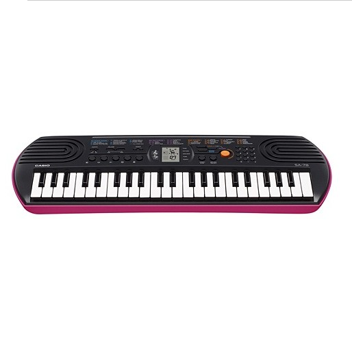 CASIO SA 77 78 44 keys Mini KeyBoards large 1