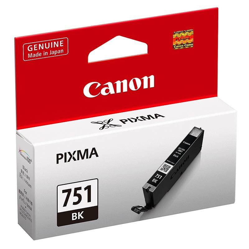 Canon 751 Black Ink Cartridge BK-751 20000516 large 1