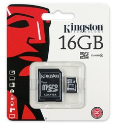 Kingston 16GB Memory Card Class4 large 1