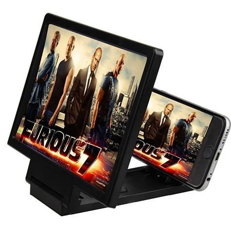HD 3D Screen Enlarge Magnifier for Mobile large 1