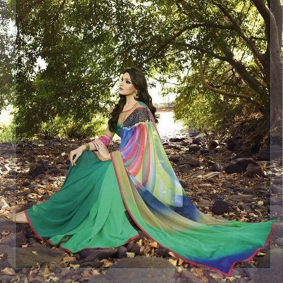 Summer Designer Saree SR1489 large 1