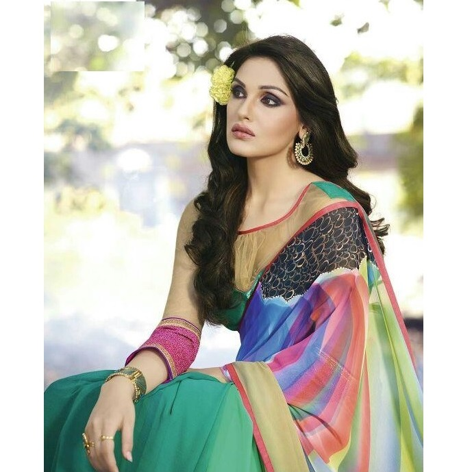 Summer Designer Saree SR1489 large 2