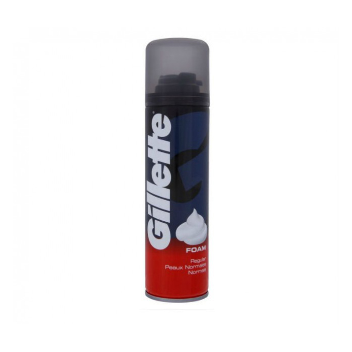 Gillette Regular Shaving Foam 200ml large 1