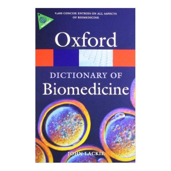 Oxford Dictionary of Biomedicine A100139 large 1