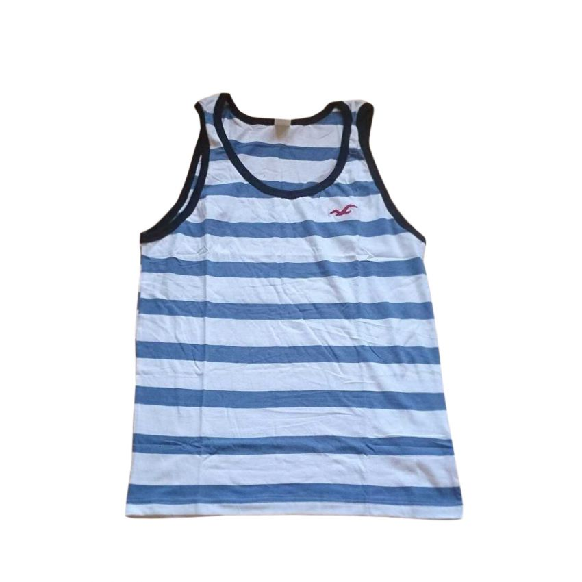 Hollister Skinny White And Blue