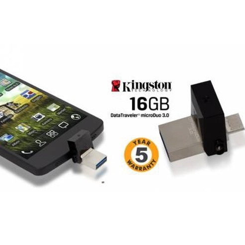 Kingston 16GB Micro Duo  DataTraveler large 1