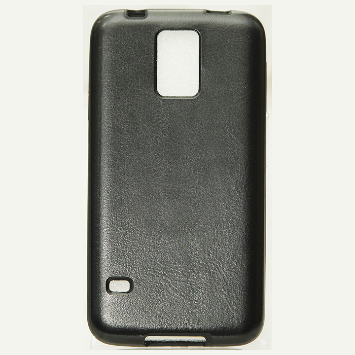 Samsung Galaxy S5 Leather Jelly Case HJEL 1482B large 1