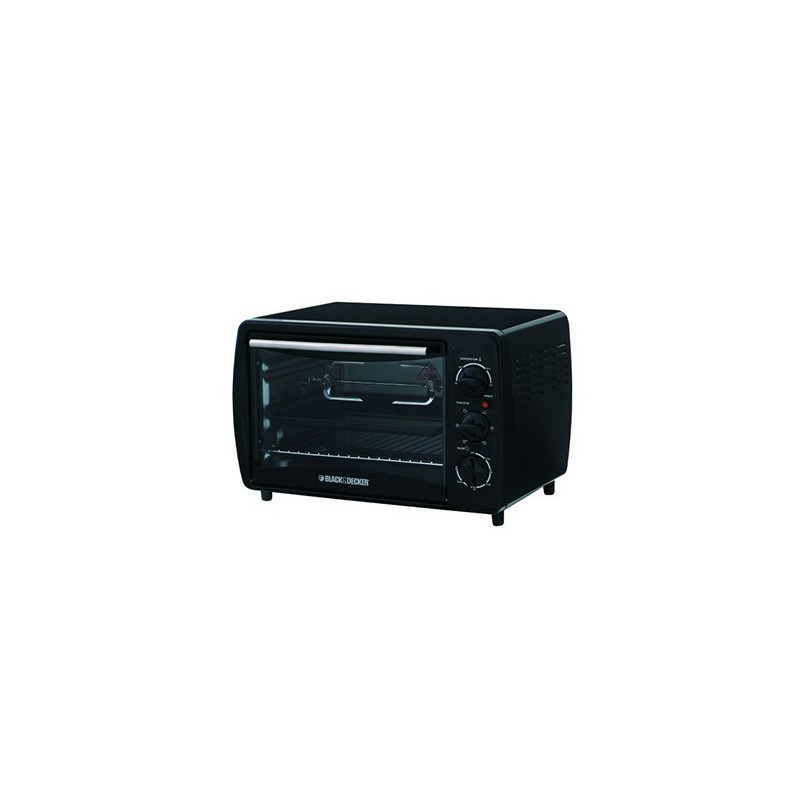Black & Decker 19 L Toaster Oven With Rotisserie TRO2000R