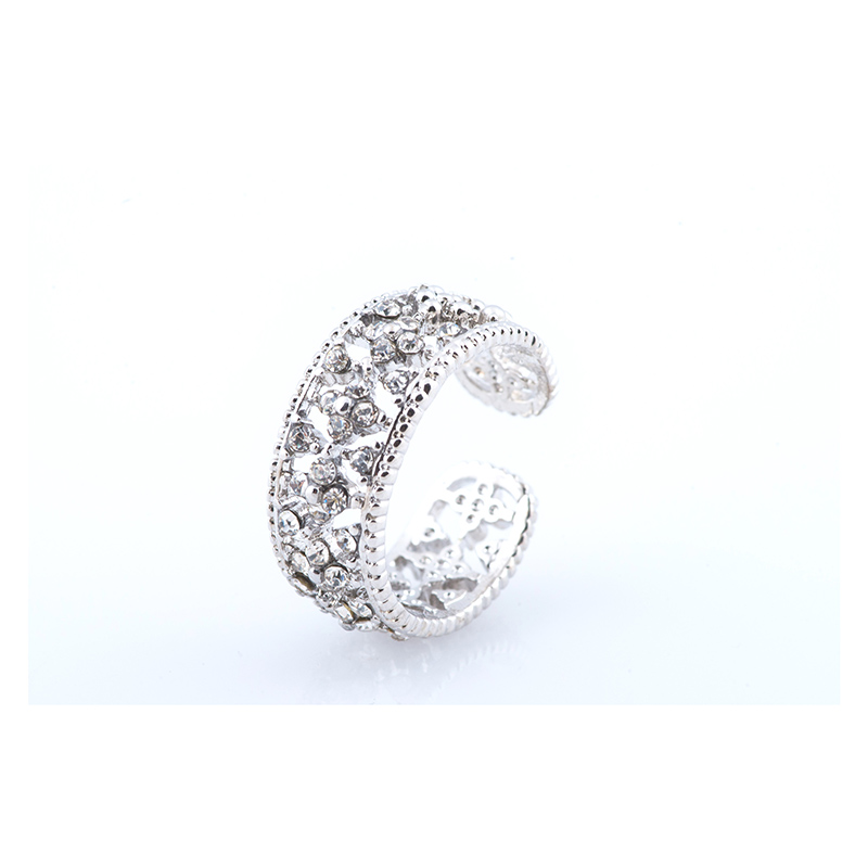 Silver Studded Etheral Ring RGSSE large 1